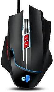 Cosmic Byte CB-M-02 Andromeda Upto 3200DPI 7 Button, LED Lights, Software Wired Optical  Gaming Mouse