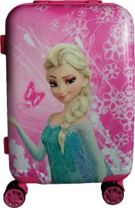 KIDOZ KINGDOM FROZEN ELSA TROLLEY BAG Cabin Luggage - 20 inch