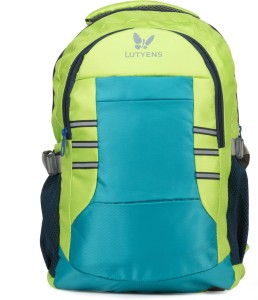 2f2cf5bb8e Lutyens Waterproof School Bag ( Green 28 )