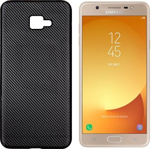 factory price 1ab09 1ebe7 Hupshy Back Cover for Samsung Galaxy J7 MaxBlack