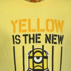 9c070489 Minions Boys Graphic Print Cotton T Shirt Yellow Pack of 1 Best ...