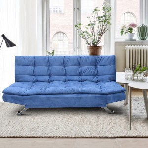 Auspicious Home Zara Double Solid Wood Sofa Bed
