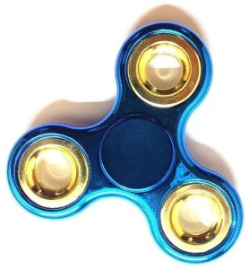 JIVI Chrome Metal Color Fidget Hand Spinner (Random Colors Only)