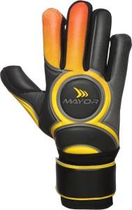 Mayor VENOM Goalkeeping Gloves (L, Black)
