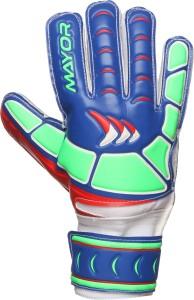 Mayor ULTIMATE Goalkeeping Gloves (L, Blue)