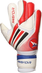 Mayor DEADSHOT Goalkeeping Gloves (XL, White)