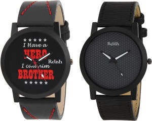 Relish RE-1143COM Gifts for Brother Analog Watch  - For Boys