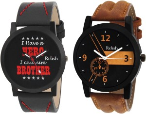 Relish RE-1129COM Gifts for Brother Analog Watch  - For Boys