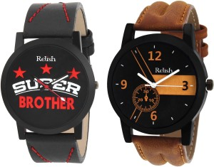 Relish RE-1133COM Gifts for Brother Analog Watch  - For Boys