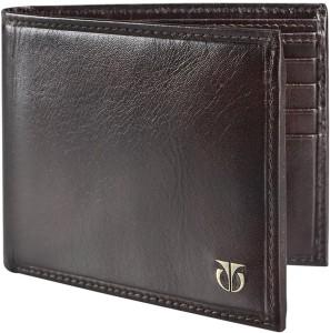 Titan Men Brown Genuine Leather Wallet