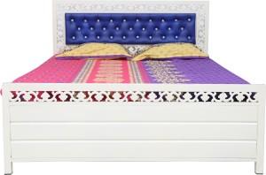 Diamond Interiors Metal Queen Bed With Storage