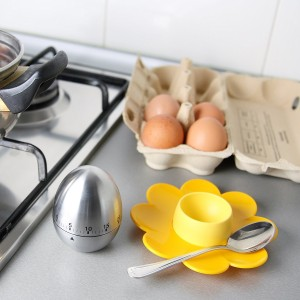 Care Case Timer Clock Egg With Alarm 60 Minutes Chef Cooking Mechnical Reminder Counting Analog Kitchen