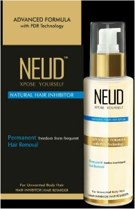 Neud Natural Hair Inhibitor Permananent Hair Removal Cream 80 G