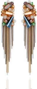 Shimmer Divine Luxuria Onyx Copper Drop Earring