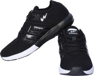 8d593ded8 Campus BATTLE Running Shoes Black Best Price in India