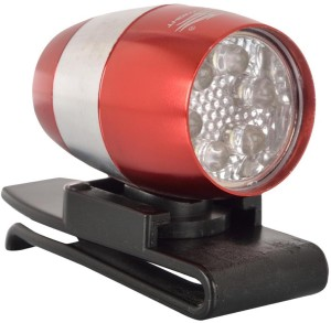 Dark Horse BICYCLE MINI-SAFETY SUPER BRIGHT 6 LIGHT RED LED Front Light