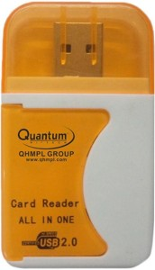 Power Quantum QHM5088 All in One Card Reader (Multicolor) USB Adapter