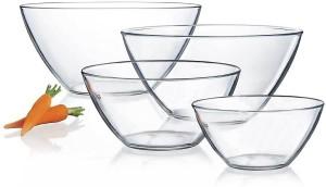 Arcoroc Cosmos Bowl 4 PCS Set Glass Bowl Set
