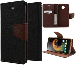 iPaky Wallet Case Cover for MOTO C Plus