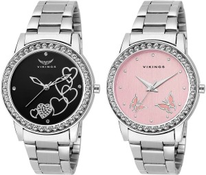 VIKINGS NEW DESIGN COMBO ( PARTY WEAR , FORMAL AND CASUAL ) FOR GIRLS AND WOMEN'S Watch  - For Girls
