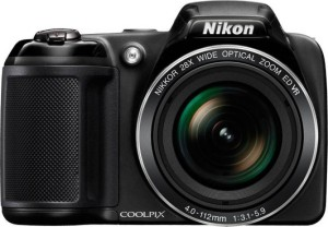 Nikon Nikon Coolpix L340 Point & Shoot Camera (Black) L340 Point & Shoot Camera