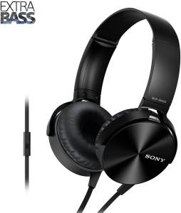 Sony MDR-XB450AP Wired Headset with Mic