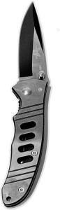 Giftipedia Silver Black Multi-utility Knife