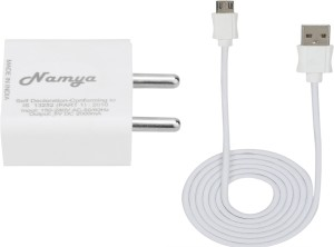 NAMYA 2A. FAST CHARGER &SYNC/DATA CABLE FOR S__NY X__PERIA C DUAL Mobile Charger
