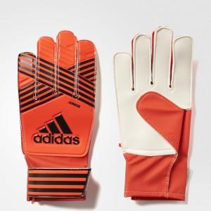 Adidas Ace Junior Goalkeeping Gloves (M, Red, Black)