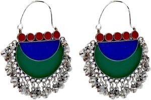 MALIFIONNA Afgani Alloy Dangle Earring