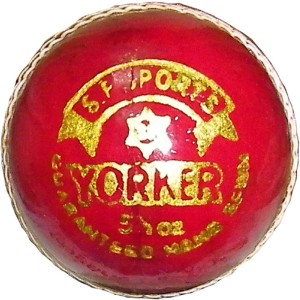 SP RED-YORKER Cricket Ball -   Size: 5