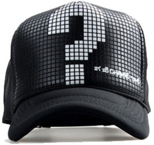 edac42bdcfa Friendskart Printed Half Net Cap In Black Colour Printed Question Mark For  Boys And Girls Cap