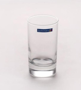 LUMINARC Glass ( 150 ml Clear Pack of 6 )