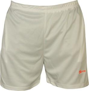 sampy Solid Men & Women White Sports Shorts, Basic Shorts, Gym Shorts, Night Shorts, Cycling Shorts, Baggy Shorts, Beach Shorts