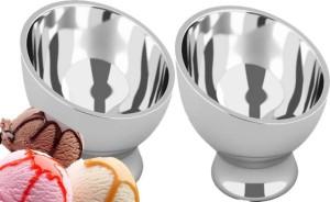 Sayee Sayee-geet-ice2586 bowl 2 pcs Stainless Steel Bowl Set