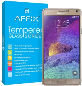 Affix Tempered Glass Guard for Samsung Galaxy Note 4 (5.7
