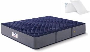 Peps Springkoil Normal Top Blue 6 inch Queen Bonnell Spring Mattress