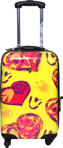 Tramp & Badger Premium Quality Designer Printed Non-Breakable & Extra Light Weight Expandable  Check-in Luggage - 28 Inches