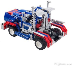 Montez DIY 464 Pcs Gaint Dragon 3D Block Set Model Learning Game Remote Control Car Toys