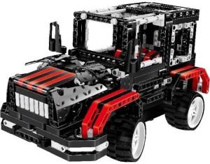Montez DIY 503 Pcs Black Knight Bee 3D Blocks Set Model Learning Game Remote Control Car Toys