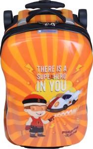 Fortune Chhota Bheem Super Hero In You 18 inch Kids Car Shape luggage Trolley Bag Cabin Luggage - 18 inch