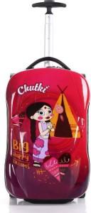 Fortune Chhoota Bheem Chutki Big happy Dreams 18 inch kids Car Shape luggage Trolley Bag Cabin Luggage - 18 inch