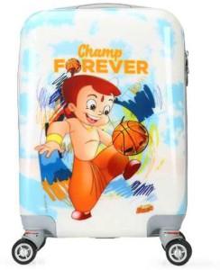 Fortune Chhota Bheem Champ Forever KidsLuggage Trolley Bag Cabin Luggage - 18 inch