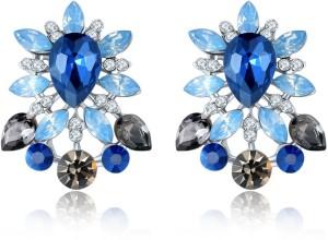 Shimmer Divine Luxuria Crystal Copper Stud Earring