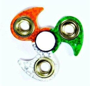 Lata Tricolor fidget spinner super smooth and fast