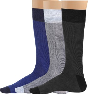 Blacksmith Men's Striped Mid-calf Length Socks
