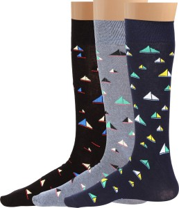 Blacksmith Men's Graphic Print Mid-calf Length Socks