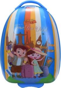 Fortune Chhota Bheem Travel the World 17 Inch Kids Luggage Trolley Bag Cabin Luggage - 17 inch