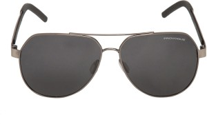 46e9fdfd6ede Provogue Aviator Sunglasses Black Best Price in India | Provogue ...