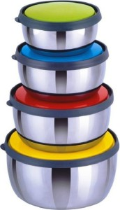 Sayee Round multicolor Bowl Steel Bowl Set